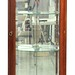 143. Contemporary Corner Display Cabinet