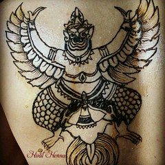 Garuda from #thai #mythology (Hiral Henna) Tags: square squareformat normal iphoneography instagramapp uploaded:by=instagram