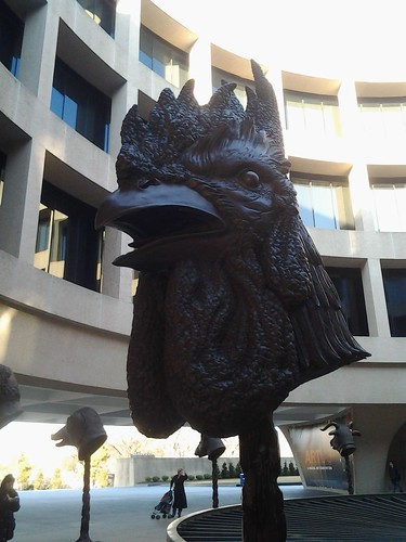 china art smithsonian chinese rooster zodiac hirschhorn 2013 aiweiwei