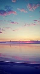 Sunrise (spaceinsanity) Tags: morning summer sky nature sunrise river coast
