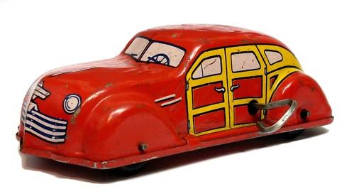 Chein Woody Wagon