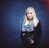 Johanna (daphne og.) Tags: camera blue portrait brick wall photoshop canon project nikon free days lightleak blonde 365 analogue johanna expansion markii lensing freelensing freelensed
