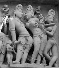 Khajuraho (nicnac1000) Tags: india temple erotic vishnu indian unescoworldheritagesite unesco worldheritagesite mp hindu khajuraho madhyapradesh chattarpur lakshmana bundelkhand 10thcentury northindian chhatarpur 10thcenturyce chandela 10thcenturyad yashovarman 950ad 10century india2013 vaikunthavishnu