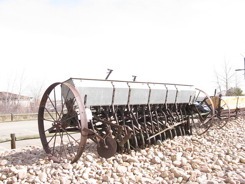 Photo - Grain drill or seeder