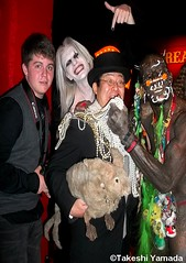 Super stars of the AMC unscripted television series; Dr. Takeshi Yamada & Seara (sea rabbit) of IMMORTALIZED and Phoenix Ray, Morgue & Marcus the Creature of FREAKSHOW at th