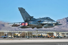 Panavia Tornado GR4 (mvonraesfeld) Tags: uk plane force lasvegas military air nevada flight jet royal tornado takeoff raf 133 032 afb redflag nellis afterburner panavia gr4 img6330 za473