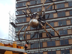 La Princesse - La Machine Liverpool September 2008 (buzzybellew) Tags: liverpool la artichoke princesse giantspider liverpool08 capitalofculture2008 lamachine