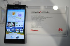 MWC Barcelona 2013 - Huawei Ascend P2
