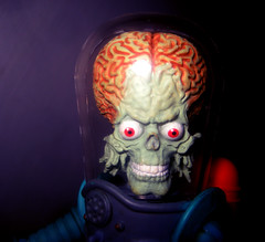mars attacks 5219 (Brechtbug) Tags: fiction mars man hot green monster movie toy cards toys tim big action space alien helmet brain science adventure galaxy trading brains bubble scifi spaceman masters trend universe creature figures invasion attacks villains martian topps burton mutants martians mezco 2013 trendmasters metalloglass