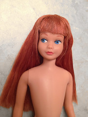 Titian Skipper AFTER (dollyhaul) Tags: red fashion vintage toy model doll little sister vinyl barbie skipper redhead headed teenage titian
