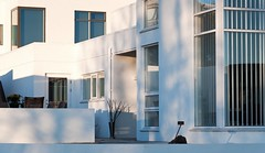 Lines,forms and shadows (Kristin Sig) Tags: windows light white house architecture shadows forms icelandic hs arkitektr