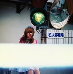 Private Parking 私人停車場 (waiyuhk) Tags: 120 6x6 film mediumformat kodak memories taiwan lightleak kiev88 arsat ektar 80f28