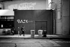 Bask (Explored) (stephen cosh) Tags: life sanfrancisco california street city people blackandwhite bw sepia mon