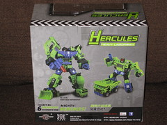 TFC Toys Hercules HEAVY LABOR aka Classics Long Haul (back) (OpTILLmus) Tags: aka toys long labor rage classics kit heavy hercules haul tfc addon