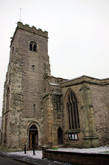 Holy Trinity Church, Much Wenlock (wandererjon) Tags: church holytrinitychurch churchdoor parishchurch muchwenlock