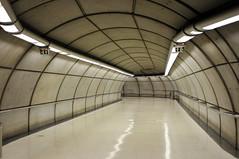 Corridor (rbastier) Tags: station architecture spain metro norman bilbao foster espagne remi rmi bastier