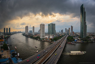 Curve of Bangkok