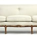 60. Custom Upholstered French Provincial Sofa