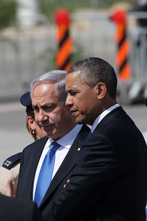 From http://www.flickr.com/photos/73610375@N07/8575956802/: President Obama with PM Netanyahu in Israel