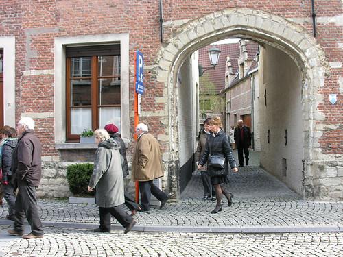 Mechelen,wandelen door klein en groot begijnhof - © Antheunis Jacqueline