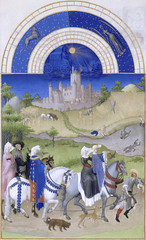 August (petrus.agricola) Tags: les de berry medieval muse illuminated chateau manuscript trs duc chantilly frres riches heures cond limbourg