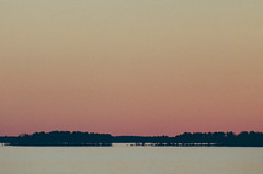 Looking for Comet Pan-STARRS (RalphHightower) Tags: sunset color film canon kodak southcarolina astronomy a1 canona1 comet lakemurray kodakportra400 2013 panstarrs lakemurraydam colorfp cometpanstarrs