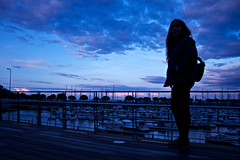 FY: (Luciluzzz) Tags: shadow girl youth harbour amazingcolors
