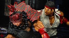 Ryu Vs. Akuma (advocatepinoy) Tags: toys play display action arts geeks nerds animation marvellegends squareenix drama ryu streetfighter capcom shoryuken neca akuma gouki hadouken streetfighter2 sf4 toyphotography nerdrum marvelselect acba shingouki playerselect streetfighter4 satsuinohadou ryustreetfighter akumastreetfighter playartskai dominicdimagmaliw advocatepinoy advocate928 filipinocollector streetfighterbattle advocateproductions