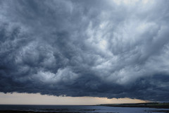 storm front moving east, 20th July 2016 (Bob_Last_2013) Tags: storm weather clouds stormy cloudscape stormyweather firthofforth weatherfront seascap