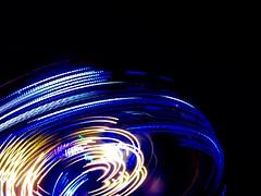 All The Fun Of Walmer Fair (messenger.rebecca) Tags: fun fair funfair walmer deal kent light lights night exposure spinning
