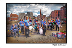 IMG_1655 -BOOTLE CONCERTINA BAND (Derek Hyamson) Tags: concertinaband candid hdr bootle albertdock liverpool