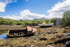 The Boatyard (Bill  M) Tags: isleofskye hdr copyright bill martin styles olympusomdem1 copyrightbillmartin2016 skye scotland copyrightbillmartin