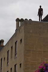 (sharpbynature) Tags: oxford broad street gormley statue