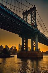 Day 306/365 (Alexander Marte Reyes) Tags: sunset manhattanbridge architecture newyorkcity nikond750 nikonphotographers nikonnofilter iamnikon