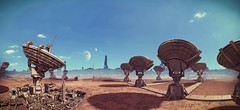 SHIFTY COW IS SHIFTY (Rina ._.) Tags: mass effect multiplayer ontarom satellite dish desert planet exploration