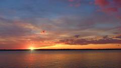 Drawing sun 1 (lmnaturephoto) Tags: nature landscape sescape sunset clouds sky shore island seaside sun