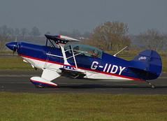G-IIDY Pitts S-2B Special (SteveDHall) Tags: aircraft airport aviation airfield aerodrome airplane aeroplane generalaviation ga lightaircraft leicester 2016 giidy pitts s2b special pittss2bspecial pittsspecial aerobatics