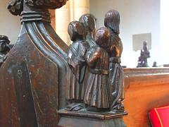 seven sacraments: Matrimony (15th Century) (Simon_K) Tags: wiggenhall st germain germans norfolk eastanglia church churches