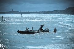 Mundesley 6 (davemoly17) Tags: davidmolyneuxphotography sea seaside beach beachhuts coast sand groynes waves water mundesley norfolk lifeboat sunny canon eos 1100d sigma wideangle