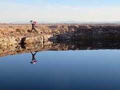 Ojos del Salar (javierchb) Tags: chiletravel desert landscape nature sanpedrodeatacama atacamadesert canon refection water travel backpacker mexico vivamexico flag adventure