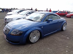 Audi TT 8N (911gt2rs) Tags: treffen meeting show event tuning tief low stance coupe blau blue airride