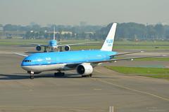 PH-BQH KLM Boeing 777-200 EHAM 13/9/16 (David K- IOM Pics) Tags: klm royal dutch airlines kl boeing ph phbqh 777 777200 b772 777300 eham ams amsterdam schiphol