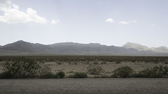 Desert, Vegas (Indokiwi) Tags: nature landscape sand simple dry hot heat travel vacation driving