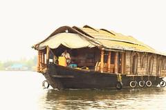House boat (Rajavelu1) Tags: allapuzha veniceofeast kerala travel toor art aroundtheworld artland creative houseboat rever water india