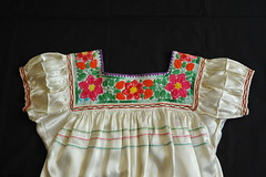 Real Mexican Blouse Chiapas (Teyacapan) Tags: maya blusa blouse mexico mexican embroidered textiles clothing aguacatenenango