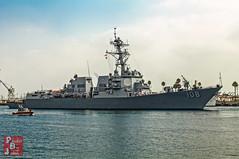 USS Wayne E Meyer (DDG-108) (*PhotoByJohn*) Tags: 5d 5dmkii california ddg ddg108 losangeles navy other sanpedro canon5dmkii destroyer fleetweek guidedmissiledestroyer hdr highdynamicrange losangelesharbor ocean photobyjohn portoflosangeles unitedstatesnavy usn usswayneemeyer wayneemeyer