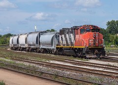 Outsider on 580 (Joseph Bishop) Tags: cndundassubdivision cn gp382w 4803 emd trains train track tracks railfan railroad railway rail rails brantford ontario