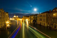 MoonLite Venice (AvijitNandy) Tags: venice italy slowshutter canon5dmarkiii canon1124f4l canal moon