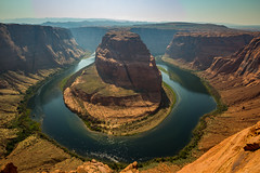 Horseshoe bend (tvrdypavel) Tags: landscape america area arizona beautiful bend canyon cliff clouds colorado curve desert destinations erosion famous geological geology grand green horseshoe landmark majestic natural nature outdoor outdoors page panoramic park plateau ravine red river rock rocks sandstone scenic shape sky southwest states stone terrain travel united usa view vista water wilderness unitedstates us