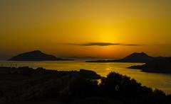 Tramonto greco (forastico) Tags: forastico d7000 grecia caposunio sounion tramonto atene